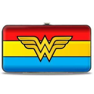 Hinged Wallet DC Comics Wonder Woman 7 x 4 Women Ladies WWBF