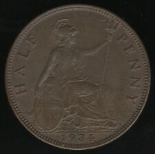 More details for 1934 george v halfpenny coin | british coins | pennies2pounds