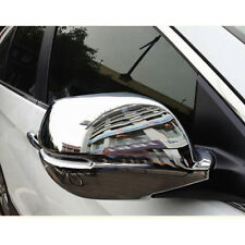 2pc Chrome Car Side Mirror Cover Rearview Trim For Honda CRV/CR-V 2012-2016