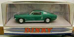 CAR DINKY DY16 1967 FORD MUSTANG FAST BACK   LIKE NEW