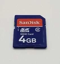 SanDisk SDHC Memory Card 4GB with Lock