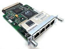 Cisco HWIC 4ESW 4-Port Ethernet Switch Interface Module 800-24193-02 73-8474-06