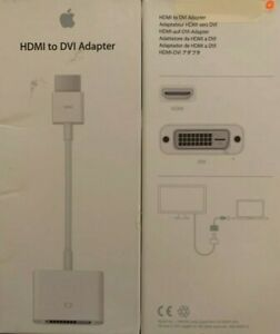 NEW Apple HDMI to DVI Adapter cable MJVU2AM/A