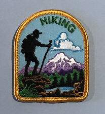 Hiking - Cubscout/Boyscout patch