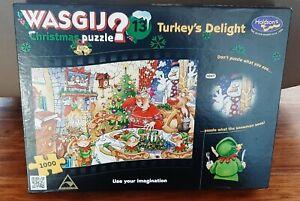 CHRISTMAS WASJIG 13- Turkey's Delight 🧩 1000 Piece Jigsaw Puzzle