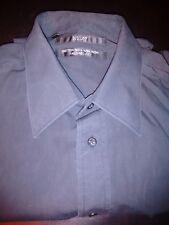 "NEXT Mens Shirt, Black Long Sleeve, , 17"" Collar (XL)"