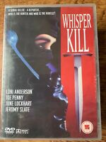 Whisper Kill DVD 1988 Murder Mystery Crime Thriller w/ Loni Anderson + Joe Penny