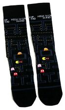 MENS PAC-MAN CLASSIC ARCADE GAME SOCKS UK SIZE 6-11 / EUR 39-46/USA 7-12