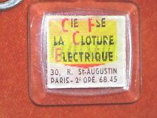 Porte-clé VISIOMATIC Cloture electrique CLOTSEUL Vache électrocutée Beau BOURBON