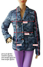 Tommy Hilfiger women's camouflage padded blazer size 8UK (34EU)* - Fitted