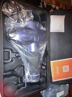 TaoTronics Massage Gun Deep Tissue Muscle Massager 6 attachments 10 speeds NIB