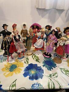 dolls of the world barbie lot