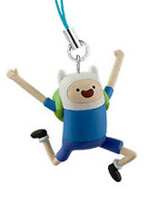 Adventure Time Finn Excited 3D Mascot Phone Strap Licensed NEW