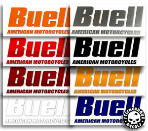 Buell gas tank / air box decals, pair, many colors # 250