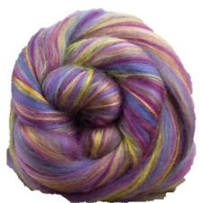 Neon Lights SHIPS FREE 4 Ounces Merino Wool//Bamboo Combed Top//Roving Bambino