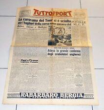 Tuttosport 28 luglio 1953 TOUR DE FRANCE La carovana è sciolta Mondiali scherma