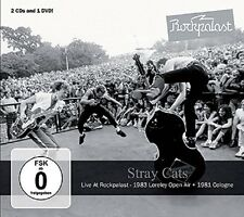 Stray cats-Live At rock 2 CD + DVD NEUF