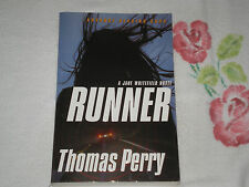 RUNNER by THOMAS PERRY  *SIGNED*      -ARC-  +FM+
