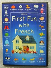 USED not ABUSED First Fun with French USA DVD Age 3 - Adult Video Primer Usborne