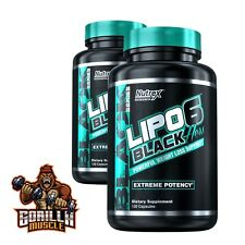 Nutrex Research Lipo6 Black Hers 120 caps Powerful Weight Loss Support Free P&P