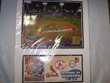 BOSTON RED SOX 2004 OPENING CEREMONY FENWAY PARK PHOTO COVER NEW