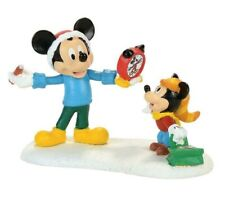 Dept 56 Disney Village MICKEY'S AUTOGRAPH CLOCK 4057262 Mickeys Alarm Clock Shop