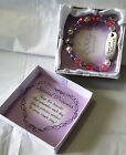 New QVC Girls Stretchable Silver Plated Bracelet Special Princess Gift for her