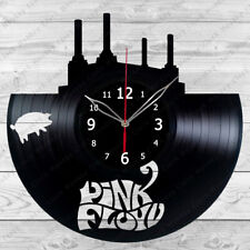 Vinyl Clock Pink Floyd  Vinyl Record Wall Clock Home Decor Handmade 342