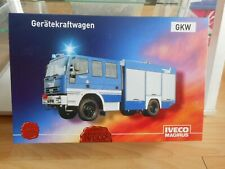 "Cursor Iveco Magirus Truck ""THW"" in Blue in Box"