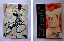 Scott Eyre Signed 1999 Lemon Chill #23 Card Chicago White Sox Autograph