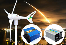 Apollo 550 W AC 24 V Magnet Wind Turbine Generator 3 Blaade +Controller+Dumpload