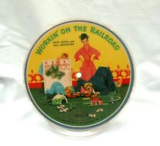 Record Guild Of America Picture Disc Workin' On The Railroad Erie Canal 78 RPM