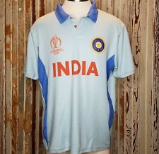 NWT 2019 Cricket World Cup Jersey India 2XL CWC ICC Official Event Tech Polo