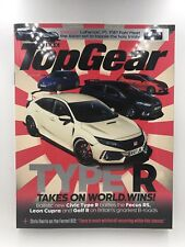 BBC Top Gear Magazine August 2017 - Issue 298