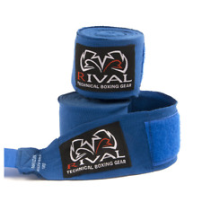 Rival Mexican Hand Wraps 4.5M Blue Stretchy Handwraps Classic hand Protection