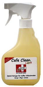1 X SHB Swiss Cafe Clean Liquid 330 ml Kaffeefettlöser Spray