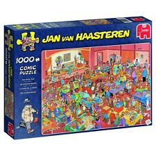 Jan van Haasteren Puzzle 1000 Piece JVH Cartoon Jigsaw  The Magic Fair Jumbo