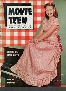 Movie Teen Aug1947 Jane Powell-Alan Ladd-Rita Hayworth.....