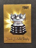 1996-97 PINNACLE SERGEI FEDOROV FRANK J. SELKE RARE TROPHIES GOLD #3