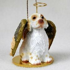 Clumber Spaniel Angel Ornament