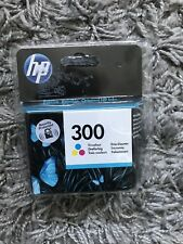 New And Sealed HP 300 Tri Colour Ink Cartridge