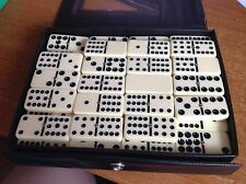 Dominoes - Double 12 - ( 1 domino missing)  IN CASE