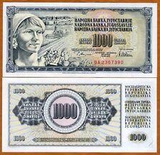 Yugoslavia, 1000 Dinara, 1978, P-92 (92c), UNC