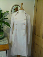 HOBBS PINK COTTON TRENCH COAT MAC 12 MARILYN ANSELM