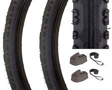 700x38c Tires Set +Tubes, Rim Strips Kenda Kross Plus Trail / Road Kit Bicycle