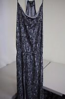 DKNY Jeans 100% Lyocell Rayon Multi-Colored Above Knee Flared Sun Dress Size - M