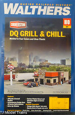 Walthers HO #933-3485 Dairy Queen(R) Grill & Chill(R) Kit -7-1/4 x 5-3/8 x 2-3/4