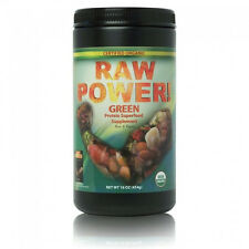 Raw Power Protein Superfood Blend Green 16oz, Certified Organic, 100% Raw, Vegan