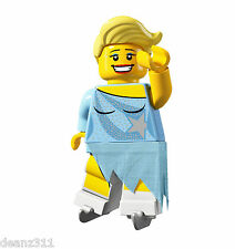 LEGO Series 4 Minifigures - #15 (GIRL) ICE SKATER - 8804 Minifigs - NEW