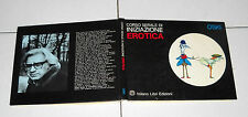Oski CORSO SERALE DI INIZIAZIONE EROTICA Milano Libro 1 ed 1975